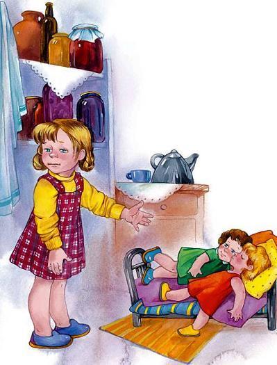 девочка и её куклы