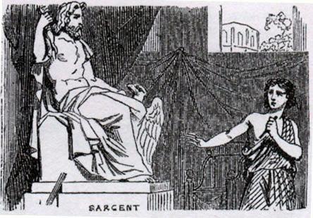 Ваятель и статуя Юпитера