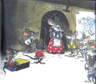 мама мышь и мышата