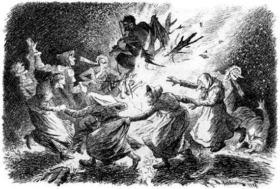 ведьмы пляшут