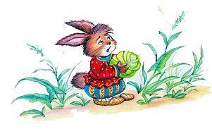 Заяц с капустой