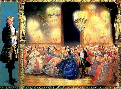 Золушка танцует с принцем